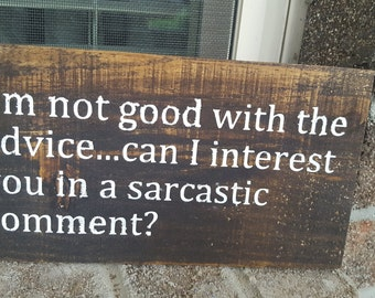 office sign, desk sign, Friends quote, Friends sign, Sarcastic sign,  sarcastic quote sign, wooden quote sign, wooden sign, pallet sign