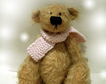 Bubble artist bear epattern by Jenny Lee of jennylovesbenny boutique bears PDF