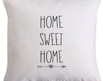"Removable cushion ""HOME SWEET HOME"""