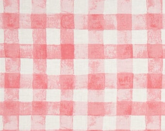 Michael Miller Sommer Pink Gingham Fabric
