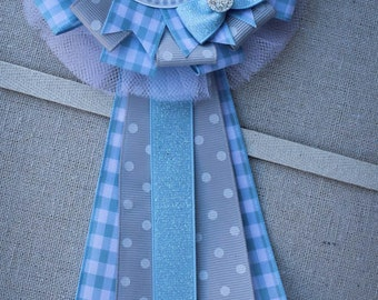Mommy to Be Corsage, Baby Shower Corsage, Mommy to Be Pin, Baby Boy Shower, Lamb Baby Shower, Baby Shower Decor,  Mommy to Be Mum, Capia