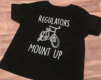 Regulators Mount Up Baby Infant Bicycle / Training Wheels Tee Shirt