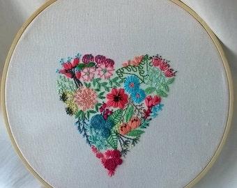 flower heart #2