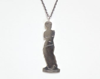 Venus Necklace in Sterling Silver