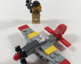 "Micro Warbirds - P-51D Mustang - ""Tuskegee Red Tail"""