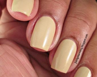 San Pedro Morning - Khaki Yellow Creme Nail Polish