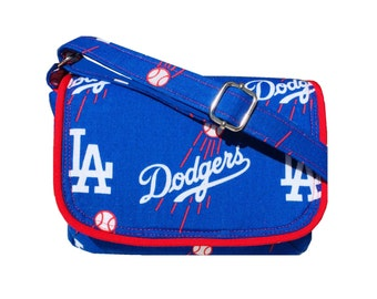 LA Dodgers Purse / MLB Crossbody / Game Day Bag