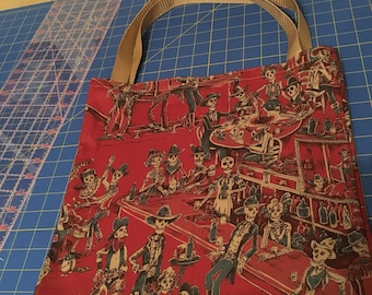 Western Day of the Dead tote