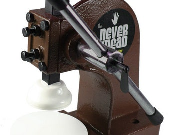 Chocolate Brown NEVERknead Conditioning Tool - knead the easy way - Sculpey Fimo Kato Cernit Pavelka + Doll Sculpting