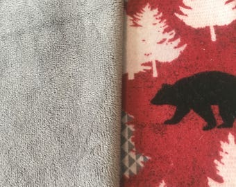 Minky & Flannel Blanket