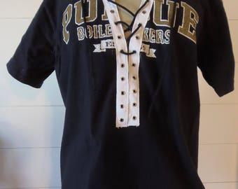 Purdue Lace-up T-shirt