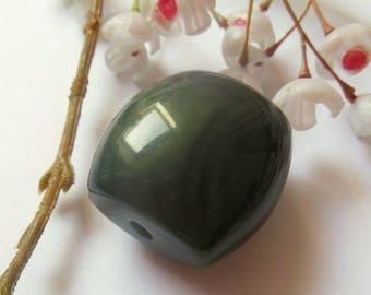 lovely oval plastic bead