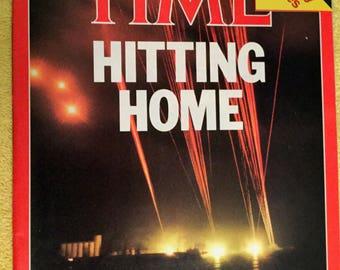 Time magazine,  April 28, 1986