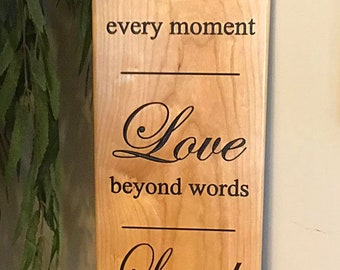 Live, Love, Laugh Wood Sign, Bar Sign, Patio Signs, Wooden Signs,