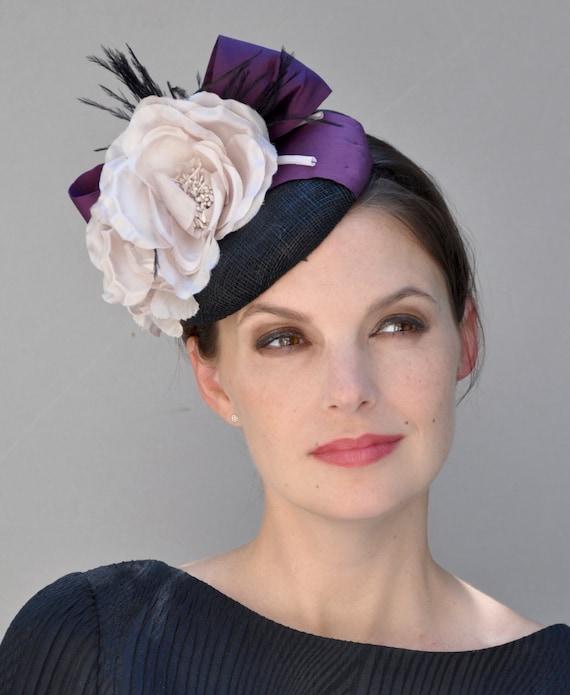 Wedding Hat, Wedding Fascinator, Fascinator Hat, Fascinator, Formal Hat, Headpiece, Percher
