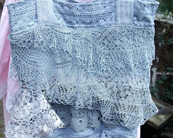 Hobo, shoulder, lace, old lin.linge wear