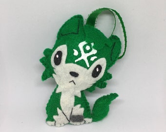 Wolf Link Ornament Or Keychain