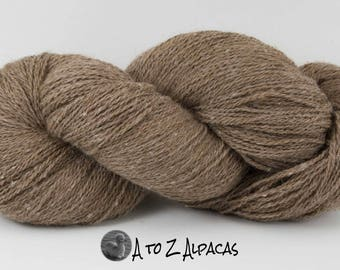 Royal Baby Natural Alpaca Yarn Sock Weight Latte