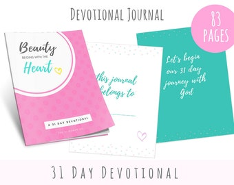 31 Day Devotional Journal, Printable