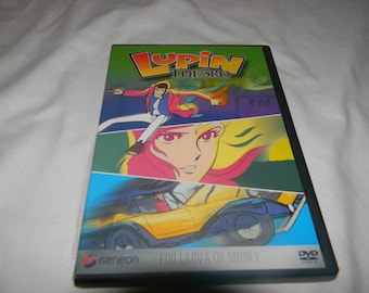 dvd lupin the 3rdfor larva & money 13+