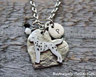 Dalmatian Necklace, Dalmatian Jewelry, Dalmation, Dalmatian Gift, Spotted Dog