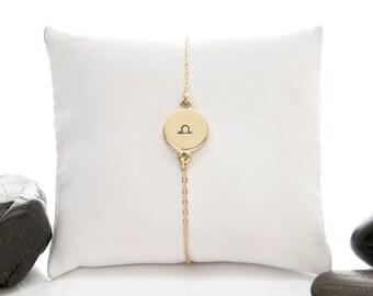 Libra Bracelet, Libra Jewelry, Libra, Zodiac Bracelet, Zodiac Jewelry, Zodiac, Astrology Bracelet, Horoscope Bracelet, Libra Zodiac