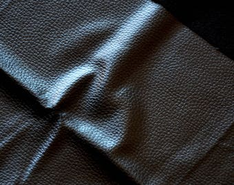 Fabric faux leather black 45 * 50cms