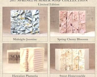 2017 Spring/Summer Soap Collection Bundle - Limited Edition (Super Moisturizing)
