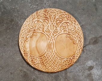 Norse Tree of Life Wall Art 9.5 Inch
