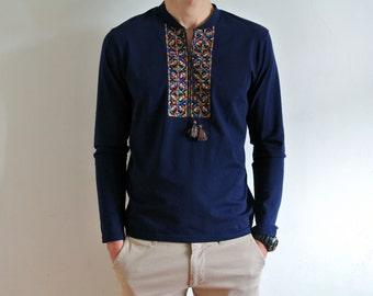 Vyshyvanka shirt Shirts for men Ukrainian clothing Embroidered shirt Made in Ukraine Vyshivanka Gift for him