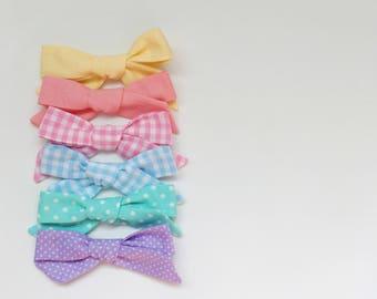 Easter schoolgirl bow