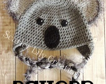 Free Amigurumi Koala Pattern : Best marsupial crochet patterns images crochet