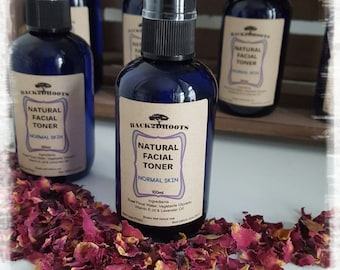 Natural Organic Rose facial toner