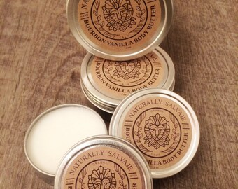 Bourbon Vanilla Body Butter