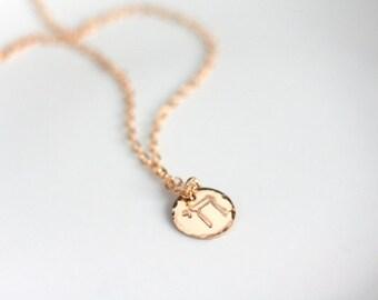 Chai Necklace, Jewish Jewelry, Modern, Minimalist, Chai, Life