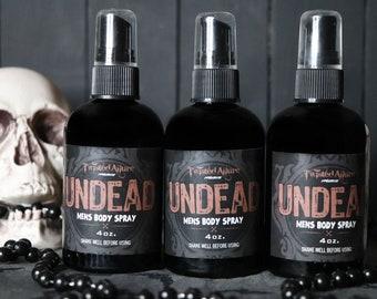 Undead  Men's Body Spray | Body Spray | Cologne | Men's cologne  |spray mist