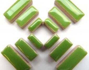 Ceramic Rectangle - Kiwi - 50g / 1.75 oz(approx. 60 pieces)