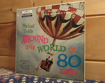 Around The World In 80 Days - Music From The Sound Track - 33 1/3 Vinyl Record