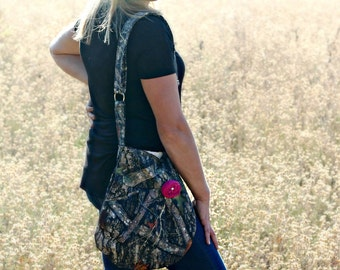 CONCEAL CARRY Purse Camouflage-- Concealed Carry Camo Cross Body CCW Handbag, Concealed Carry Purse, Conceal Carry for Women, Concealed Gun