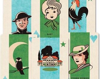 Jenni Bowlin 3x4 cards, various designs