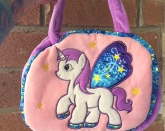 1990s Unicorn Pastel Fairy Kei Mini Purse