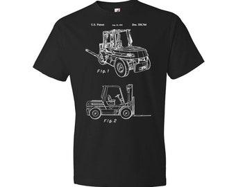 Forklift T-Shirt, Warehouse T-shirt, Pallet, Fork Lift, Truck, Warehouse, Industrial, Gift
