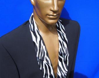Men's customised festival clubwear jacket