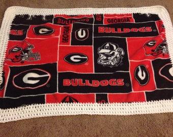 Georgia Bulldogs Blanket