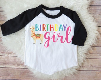 Birthday girl llama shirt, Llama birthday party, matching llama, llama theme birthday, llama birthday shirt, llamacorn birthday shirt