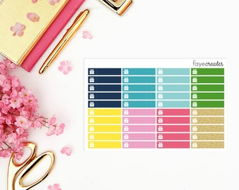 Birthday stickers for Simplified Planner and other planners