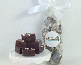 Peppermint Chocolate Caramels - All Natural- Gourmet