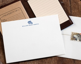 Letterpress Stationery | Ranch Brand and Name Stationery | Letterpress Correspondence Card | Formal Stationery