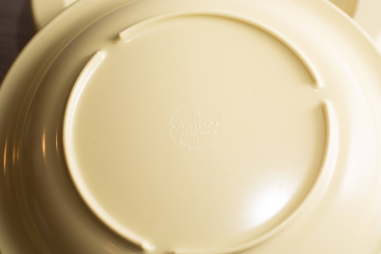 gallery photo gallery photo gallery photo gallery photo gallery photo & Vintage Mistral Melamine Plates 4 piece Set of Soft Yellow ...