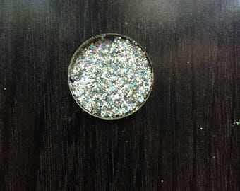 White/Holographic/Silver Snow Queen Metallic Pressed Glitter